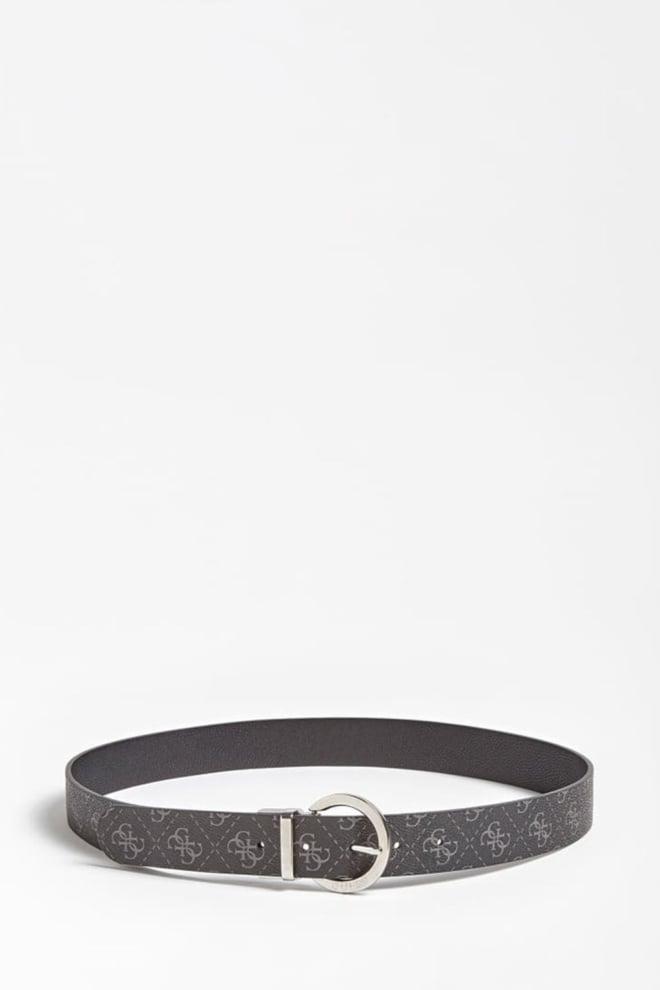 Guess dames riem met logo zwart - Guess Accessoires