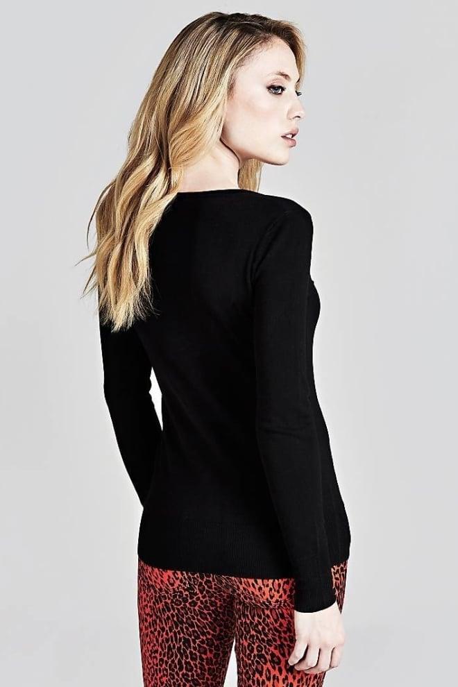 Guess delia trui zwart - Guess