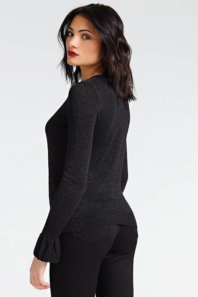 Guess diletta trui zwart - Guess