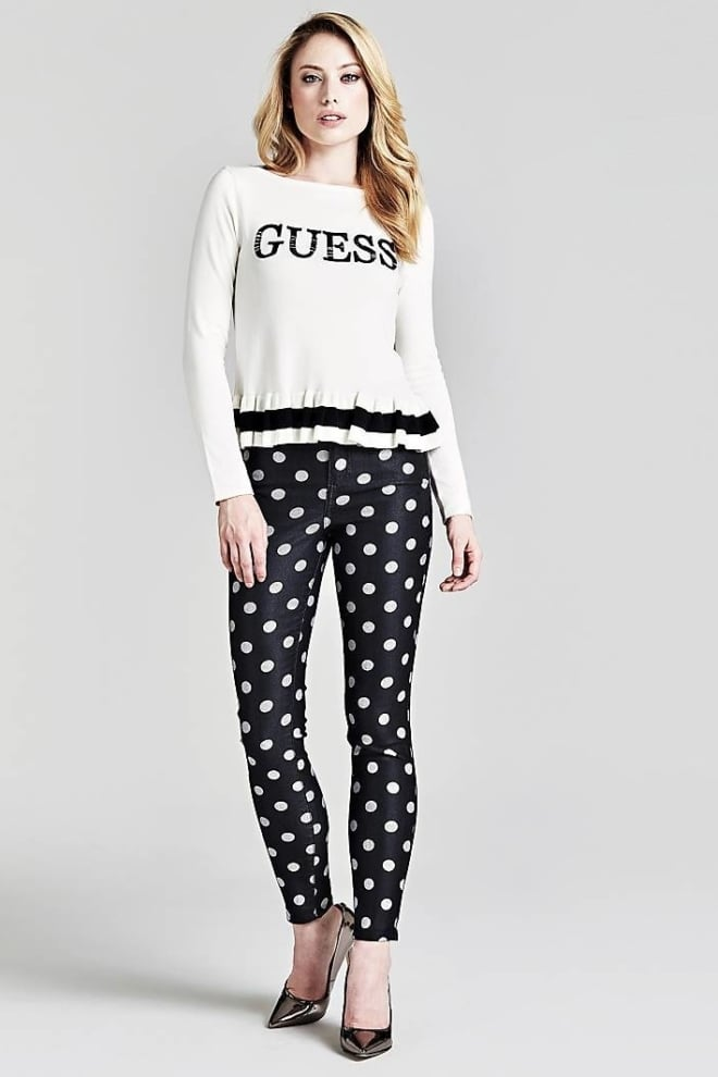 Guess frida sweater wit - Guess