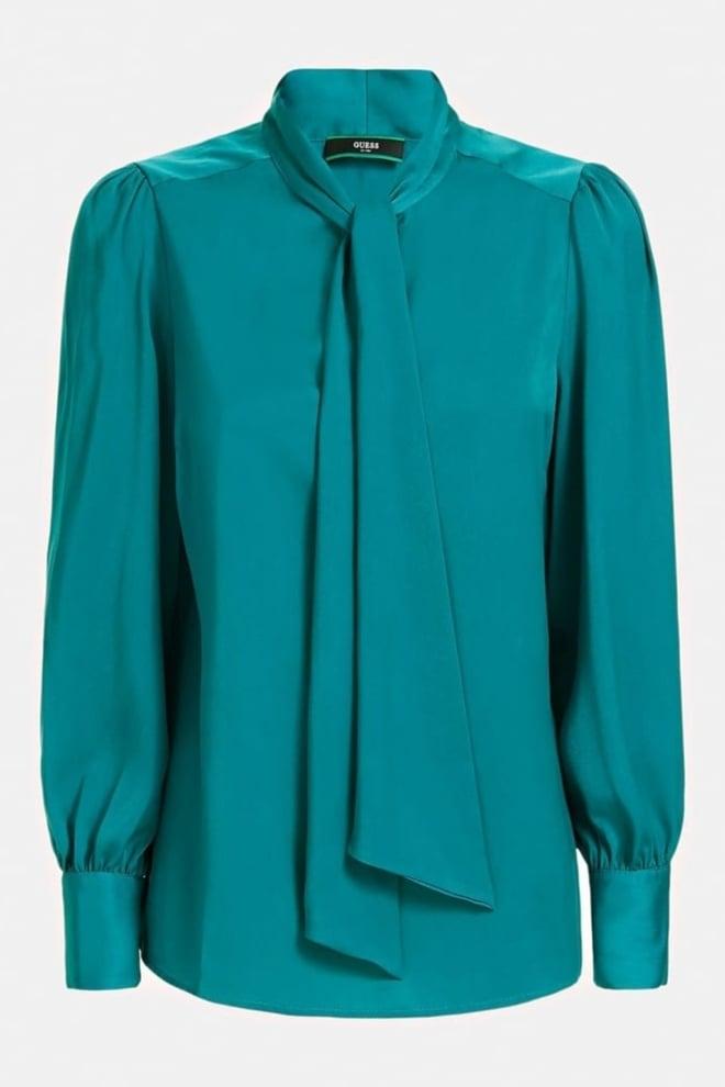 Guess hasna blouse blauw/groen - Guess