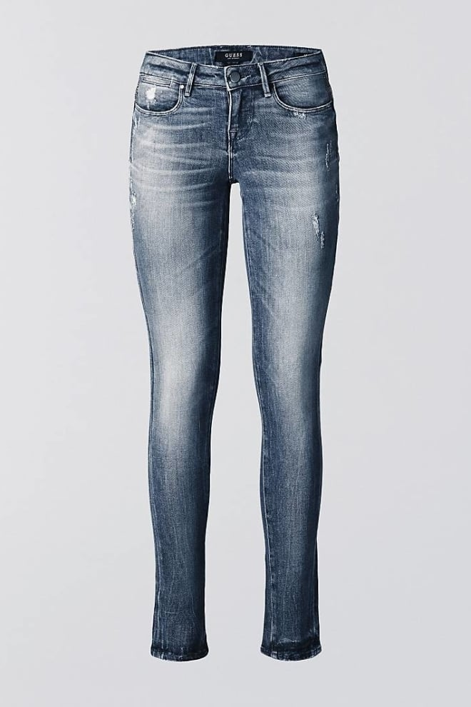 Guess jegging with abrasions grey - Guess