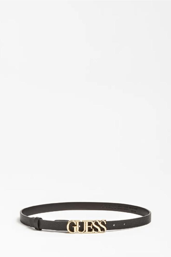 Guess lias verstelbare riem zwart - Guess Accessoires