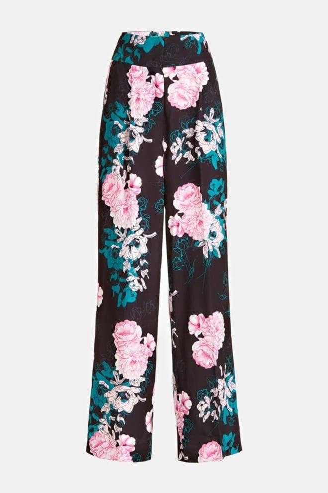 Guess mabel broek zwart met print - Guess