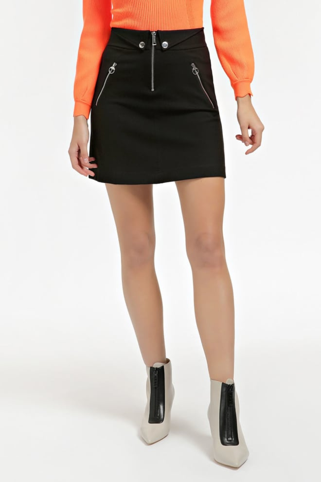 Guess mini rok zwart - Guess