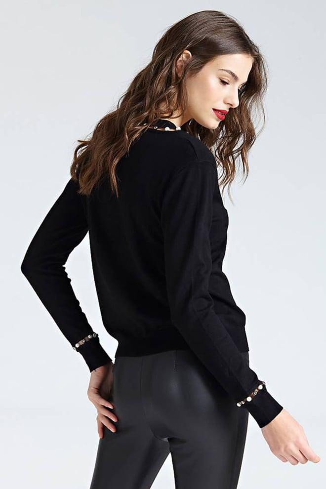 Guess miriam sweater zwart - Guess