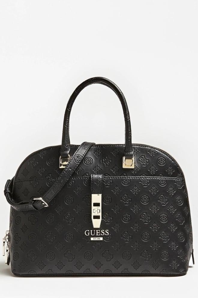 Guess peony classic tas zwart - Guess Accessoires