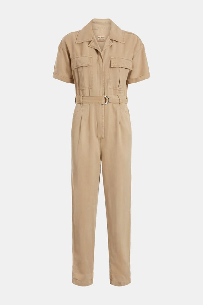 Guess serenity jumpsuit beige - Guess