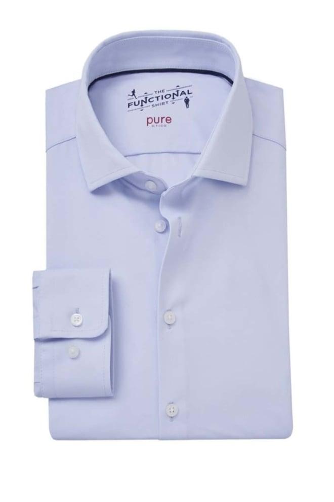 Pure-hatico overhemd lichtblauw - Pure-hatico