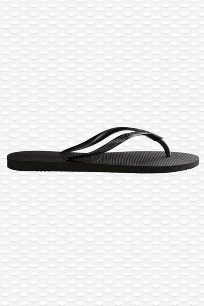 Havaianas slim slipper zwart - Havaianas