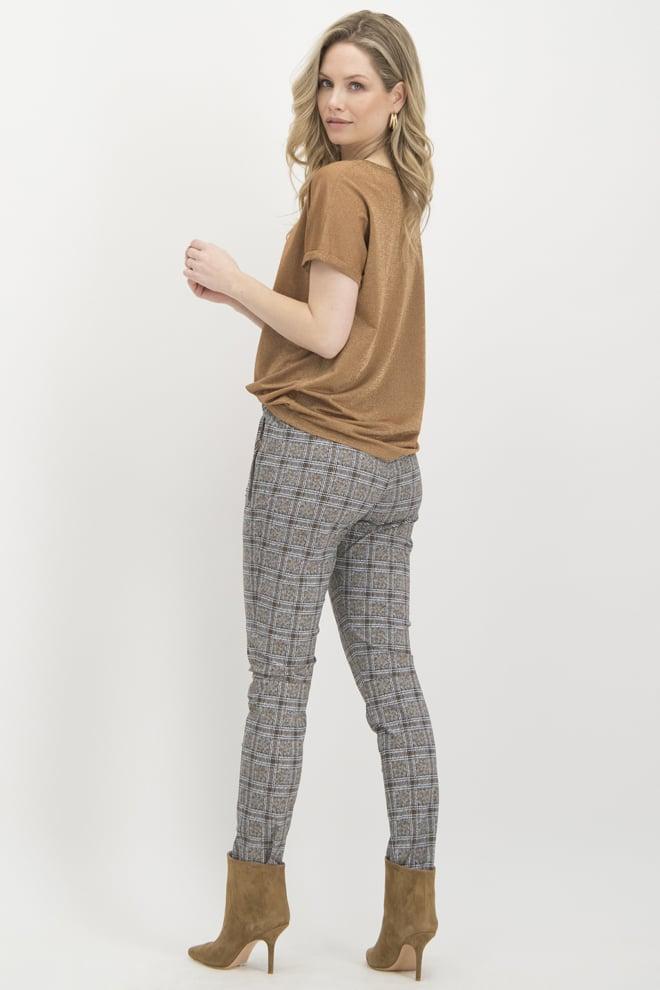 Jane lushka tea pants grijs/bruin - Jane Lushka