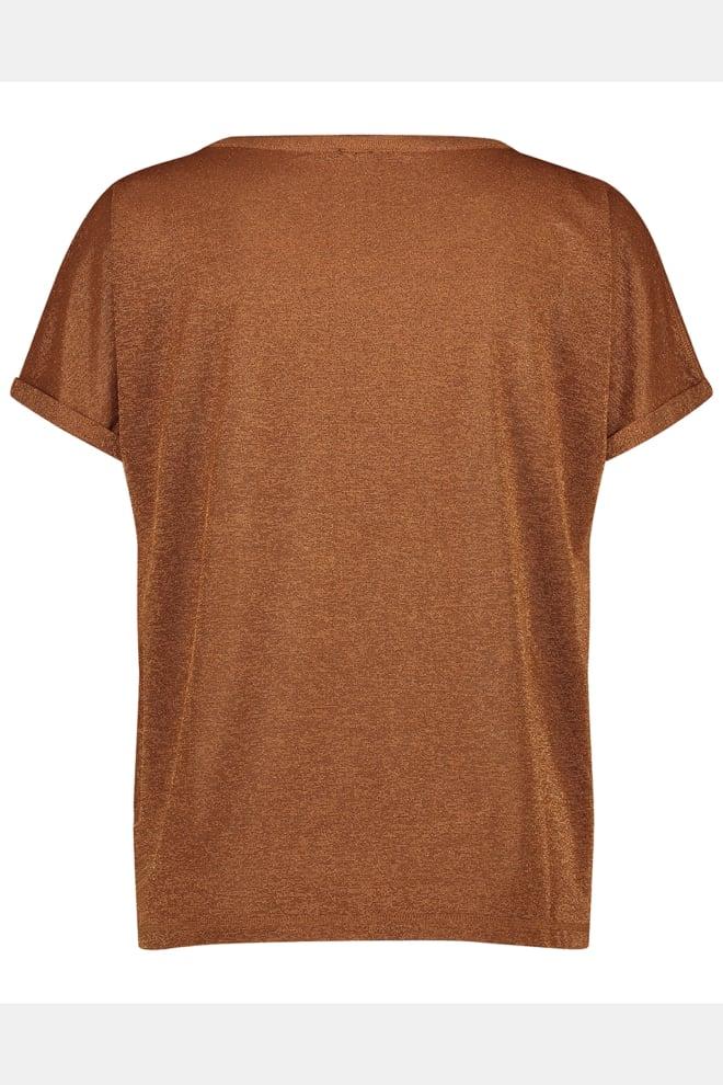Jane lushka hope t-shirt cognac - Jane Lushka