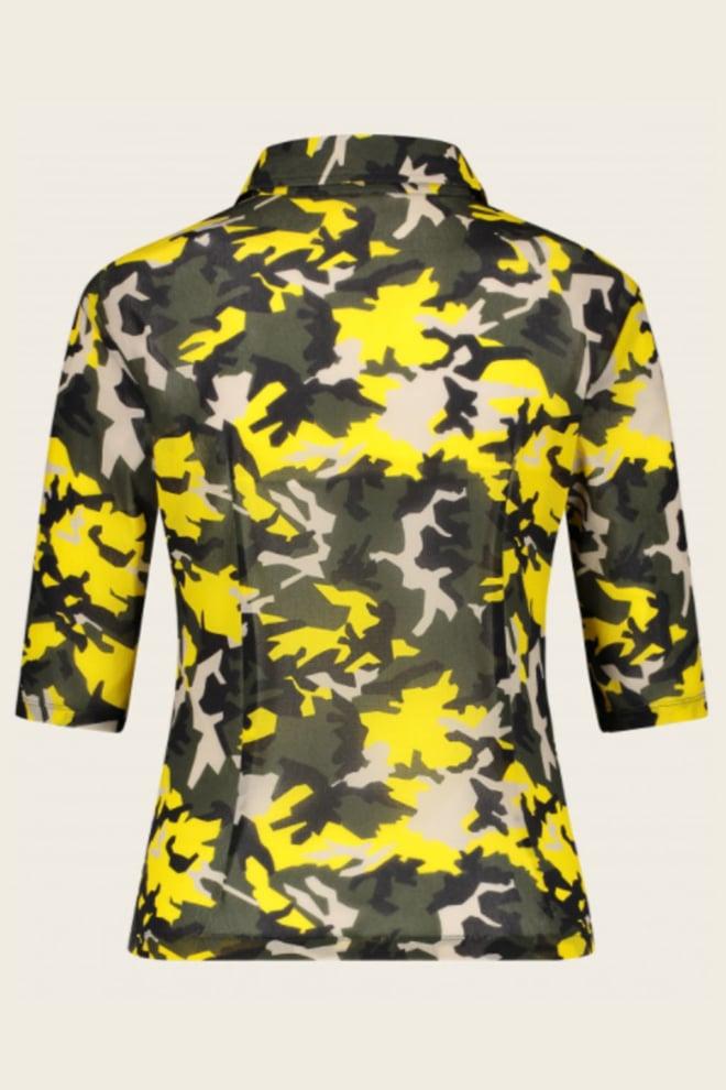 Jane lushka noel blouse army - Jane Lushka