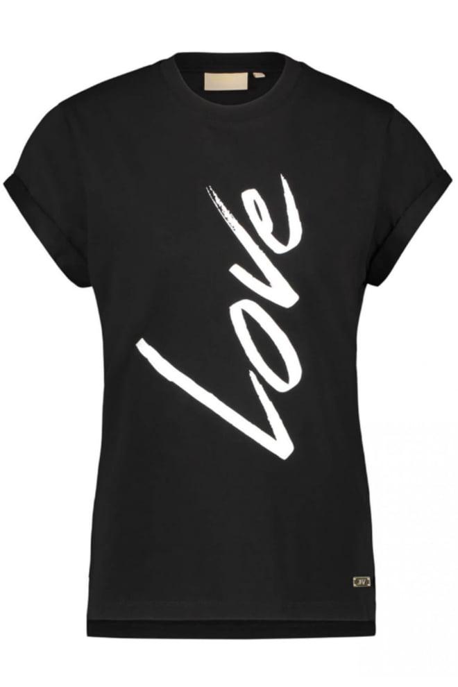 Josh v dora love 27 shirt zwart - Josh V