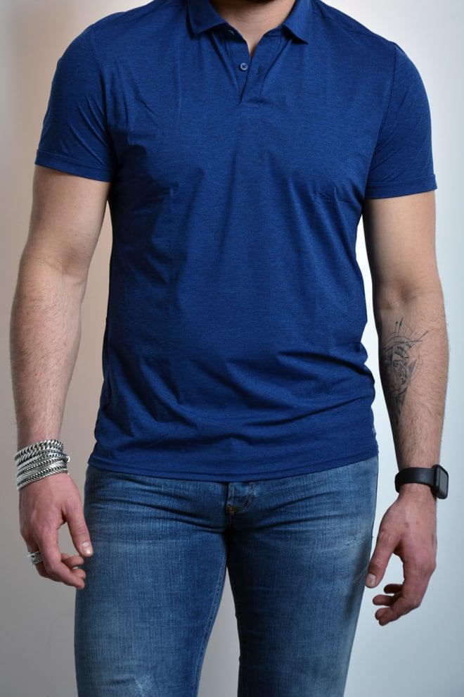 Karl lagerfeld t-shirt blauw - Karl Lagerfeld