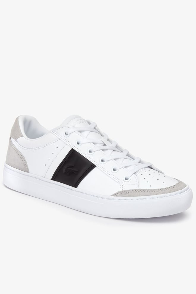 Lacoste courtline sneakers wit - Lacoste