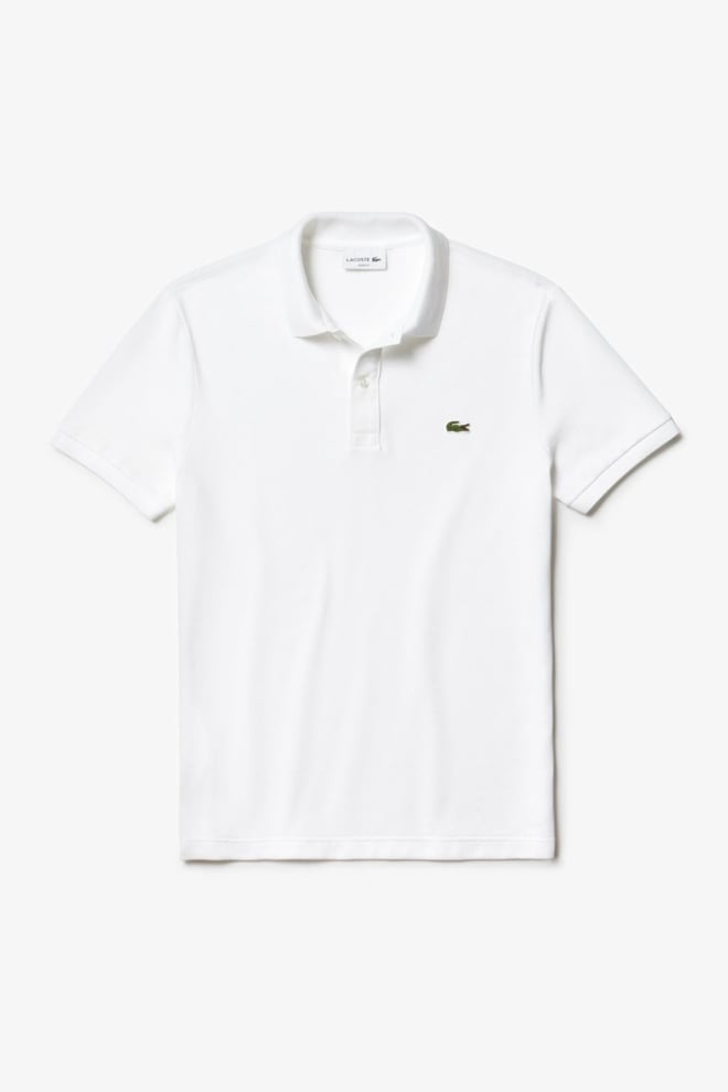 Lacoste slim fit polo wit - Lacoste