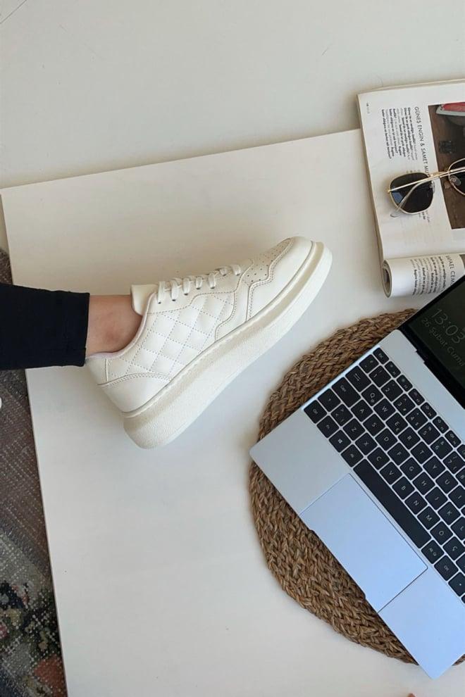 Mupa shoes sneakers white - Mupa Shoes