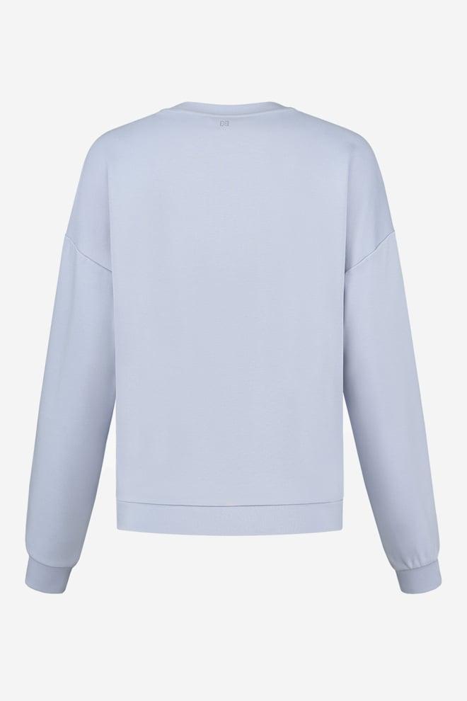 Nikkie punta balloon sweater ice blue - Nikkie