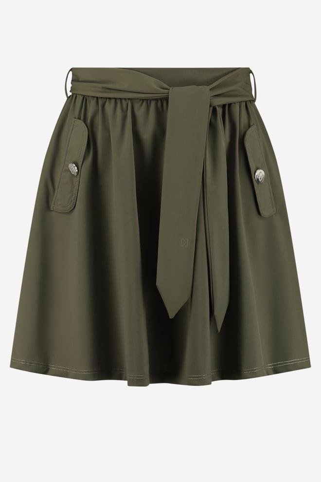 Nikkie suzy utility skirt groen - Nikkie