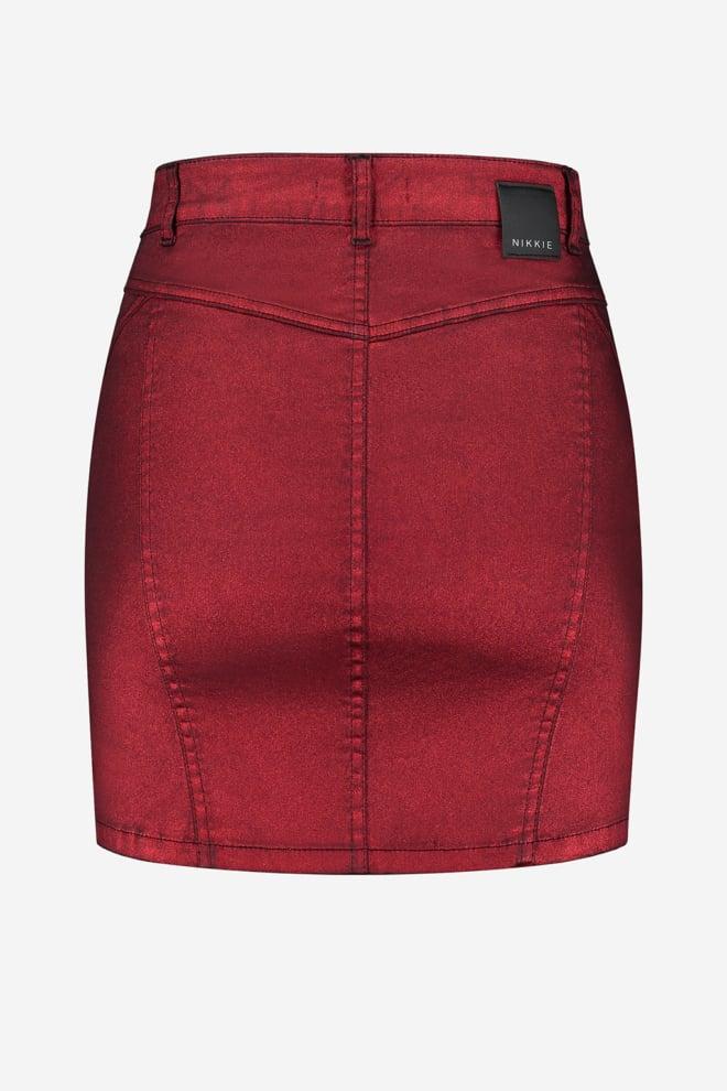 Nikkie metallic coated skirt - Nikkie
