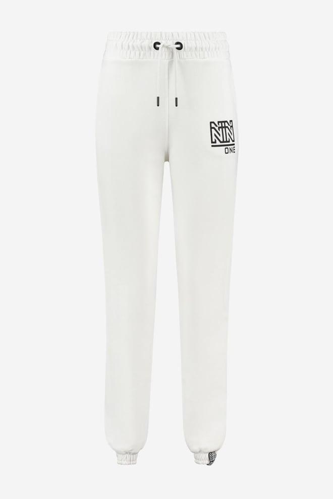 Nikkie one sweatpants star white - Nikkie