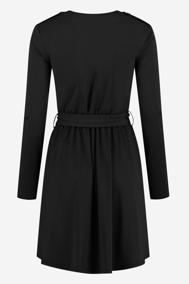 Nikkie suzy utility dress black - Nikkie
