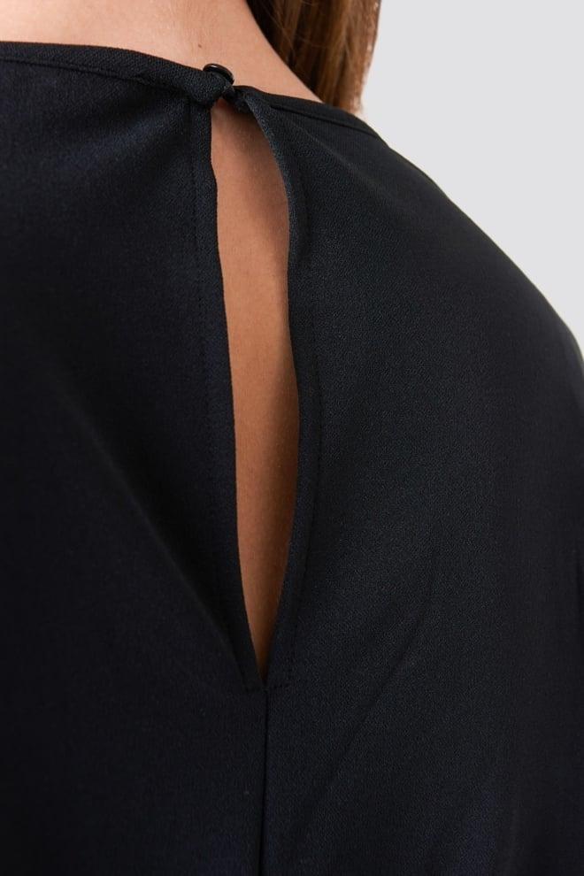 Na-kd loose fit jumpsuit zwart - Na-kd