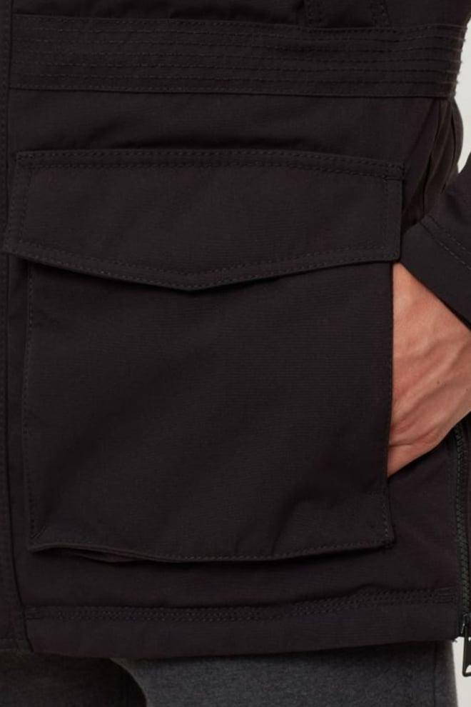 Napapijri skidoo open long jas zwart - Napapijri