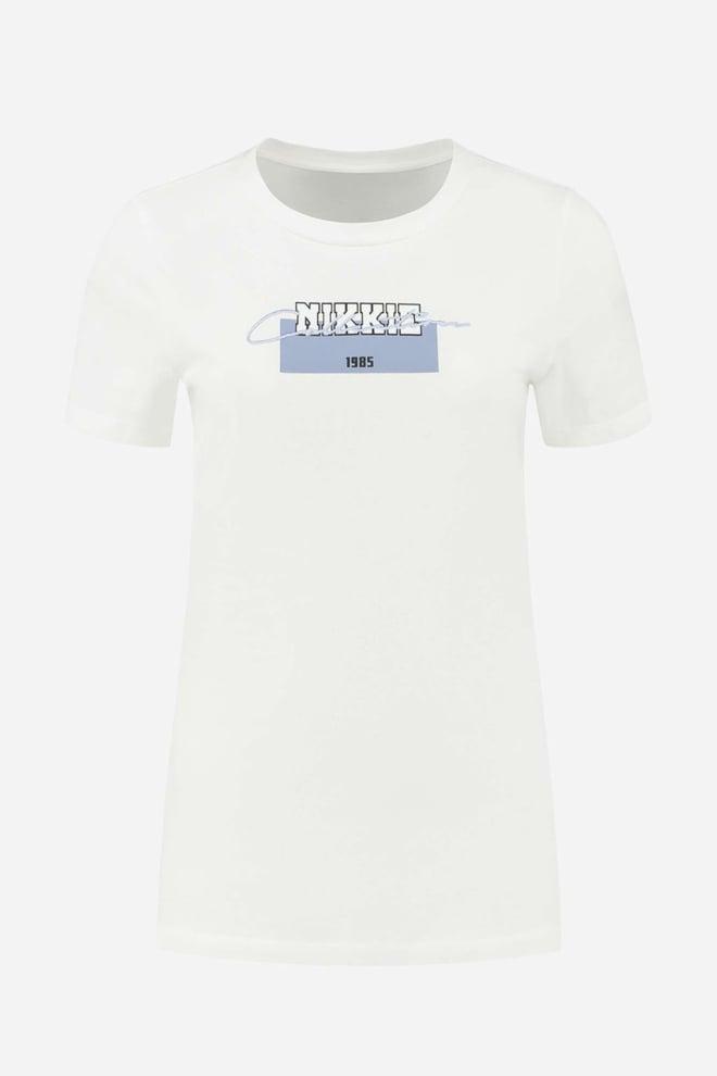 Nikkie 1985 t-shirt star white - Nikkie