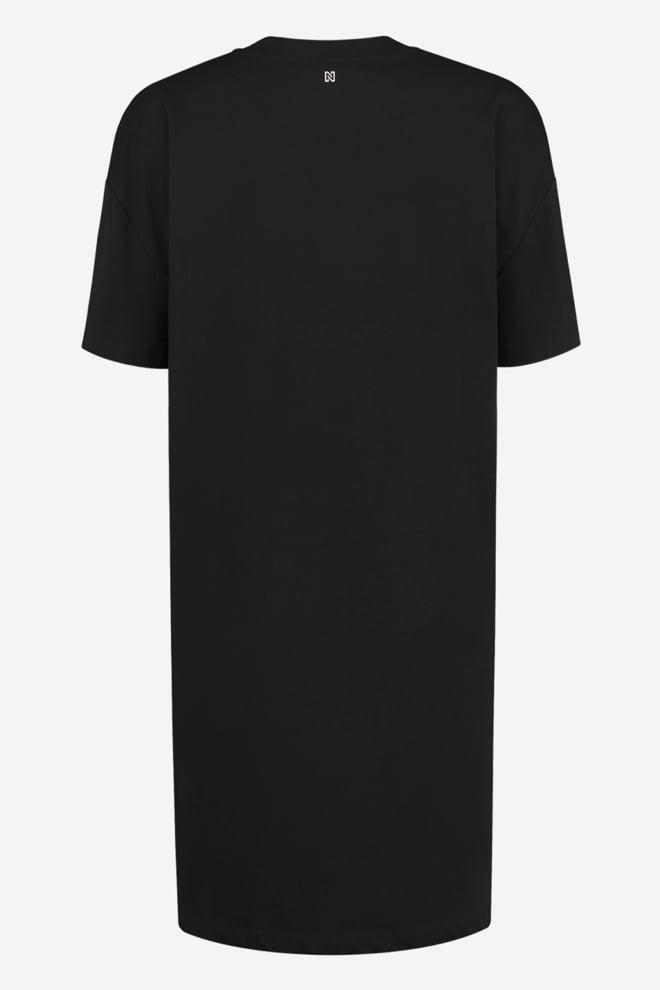 Nikkie oversized tee dress black - Nikkie