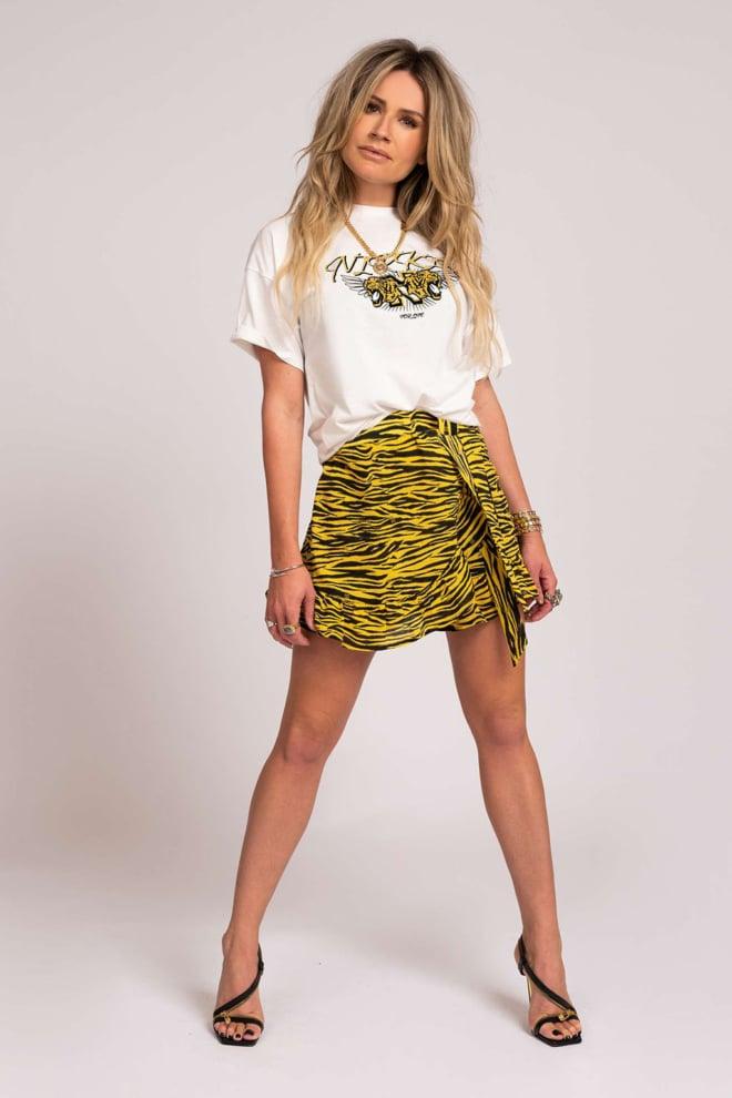 Nikkie skirt bamboo geel - Nikkie