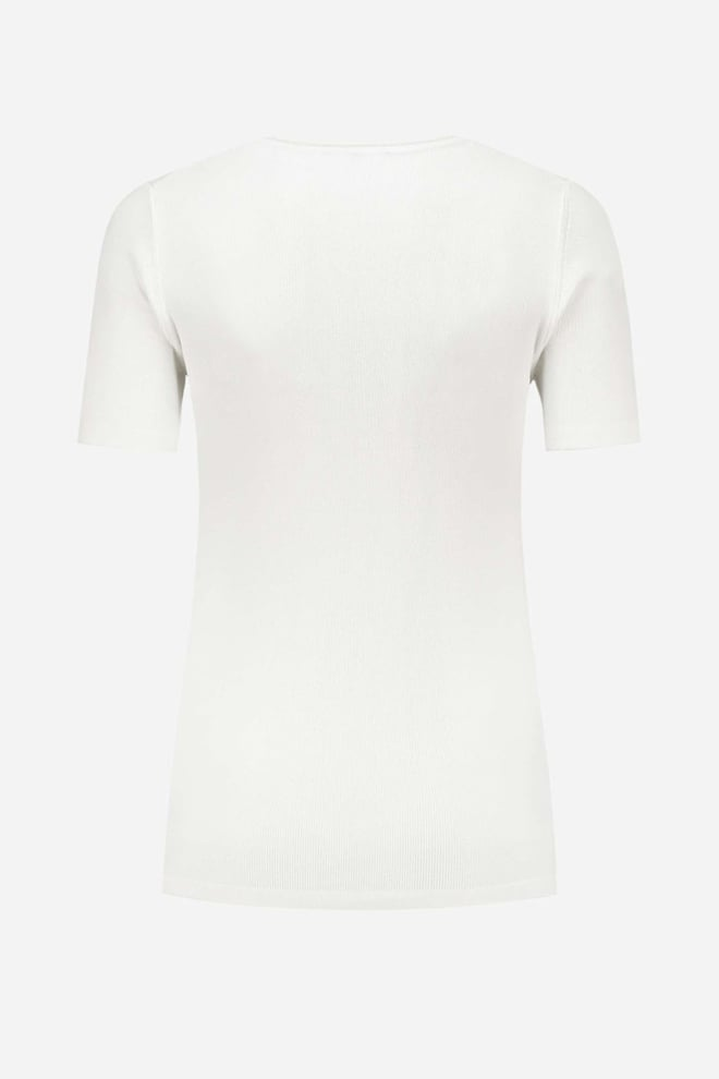 Nikkie jolie top off white - Nikkie