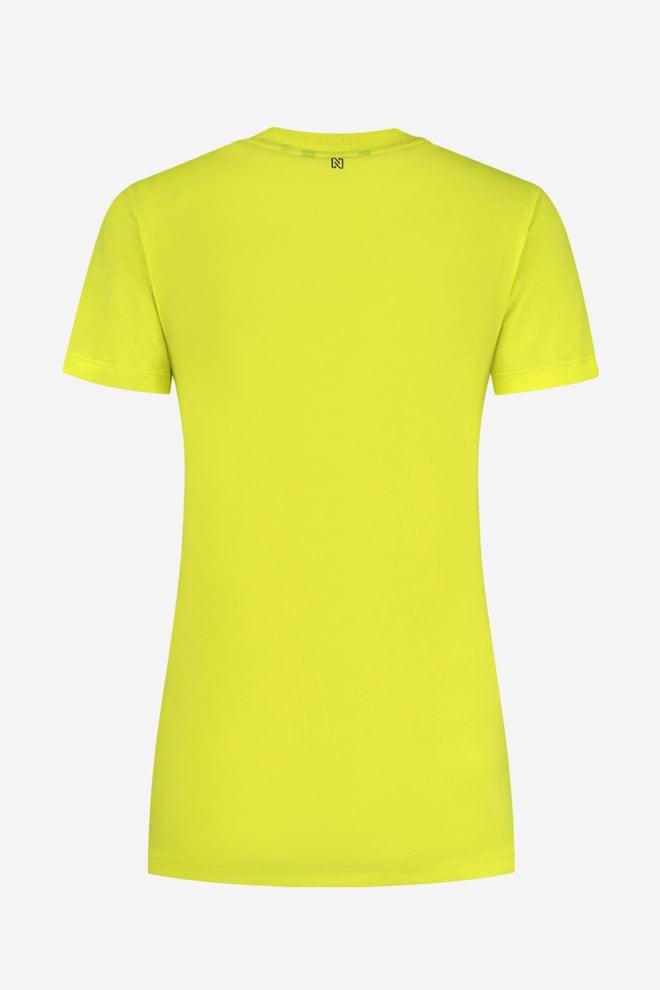 Nikkie snake coll.34 t-shirt poison green - Nikkie