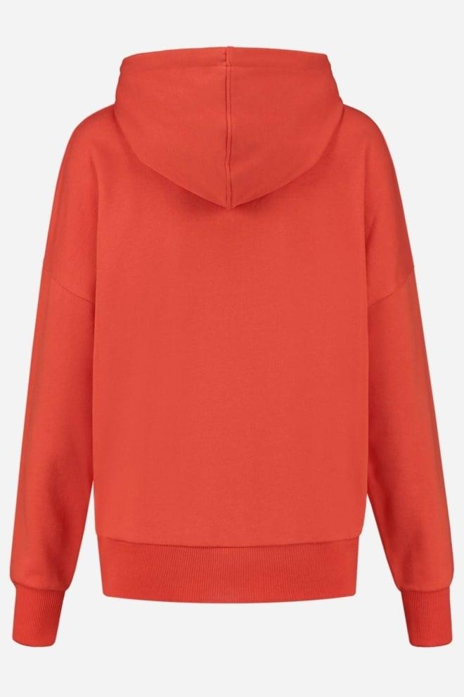 Nikkie stripe logo collection hoodie rood - Nikkie