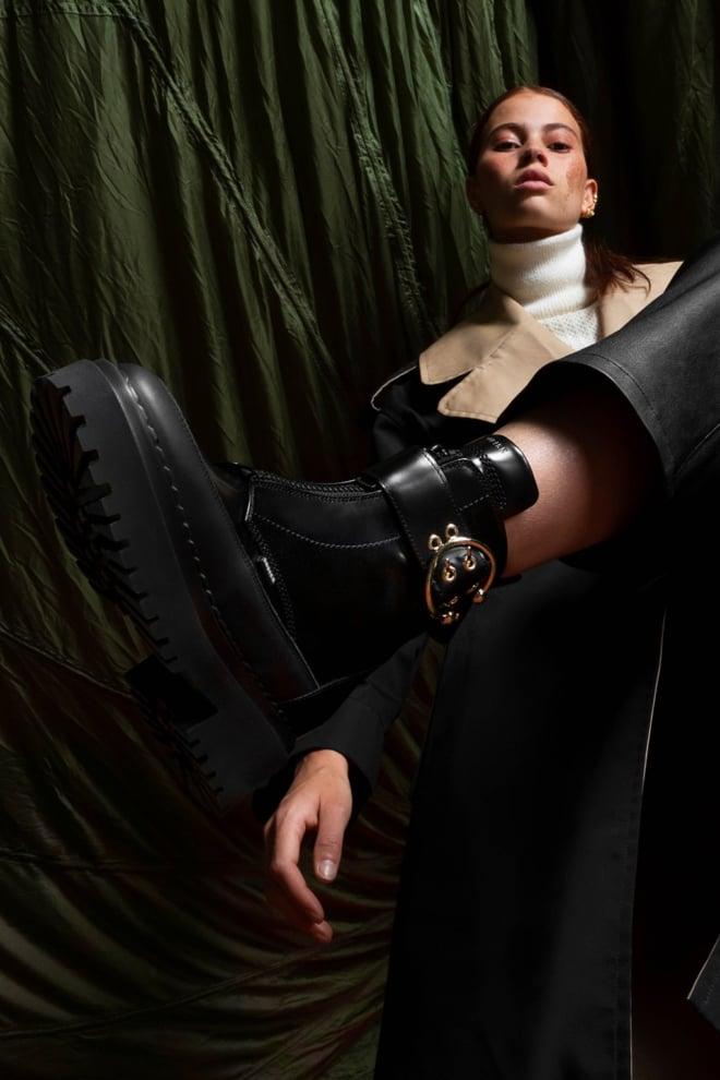 Nubikk fae ray biker boots zwart - Nubikk