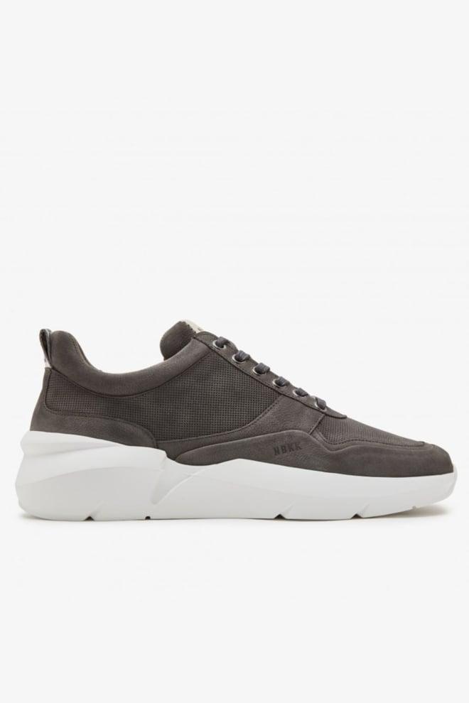 Nubikk elven tanuki sneakers grijs - Nubikk