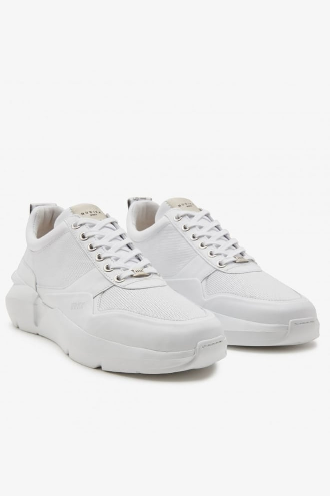 Nubikk elven tanuki sneakers wit - Nubikk