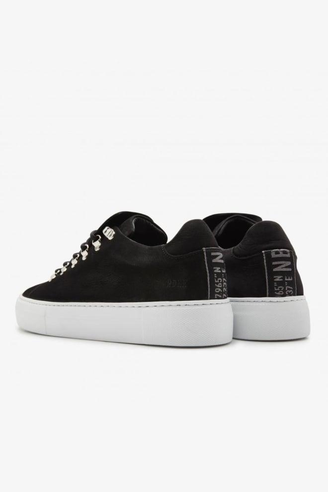 Nubikk jagger classic sneakers zwart - Nubikk