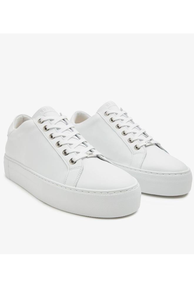Nubikk jagger pure gomma sneakers wit - Nubikk