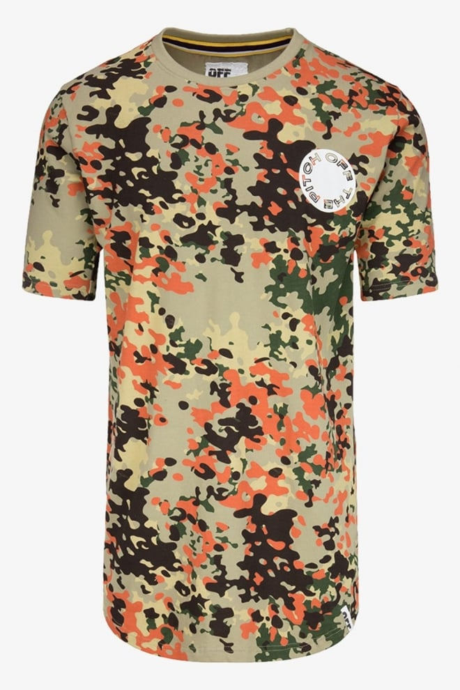 Off the pitch full camo tee - Off The Pitch