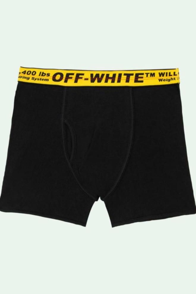 Off white 3-pack boxershorts zwart - Off White