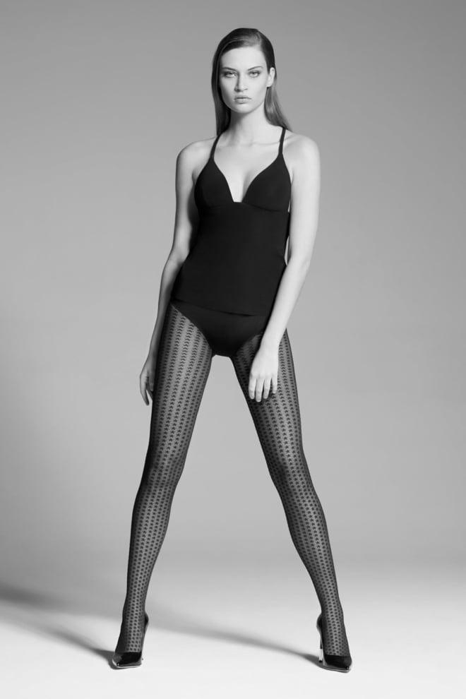 Oroblu little star fashion panty zwart - Orobluandspanx
