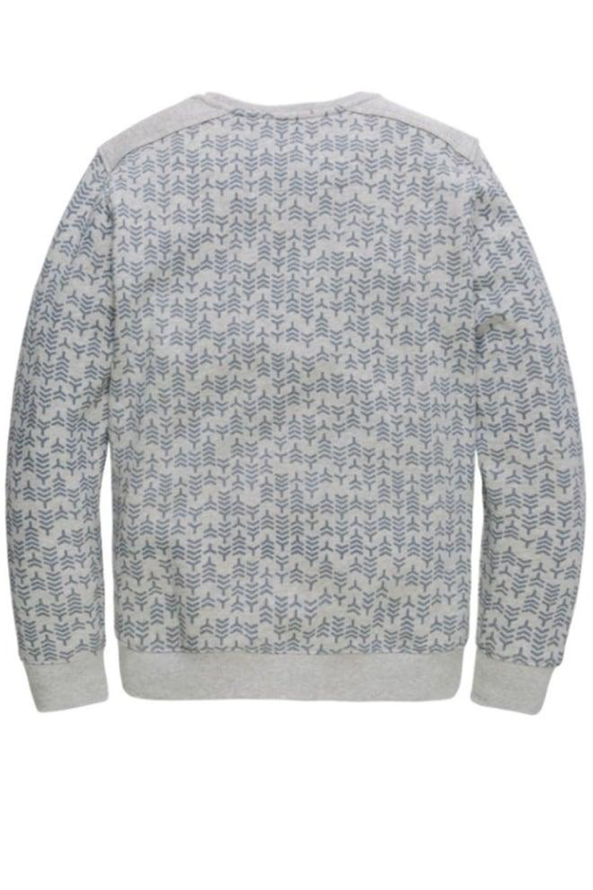 Pme legend light sweat crewneck sweater grijs