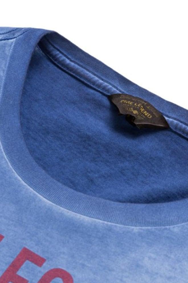 Pme legend single jersey shirt blauw - Pme Legend