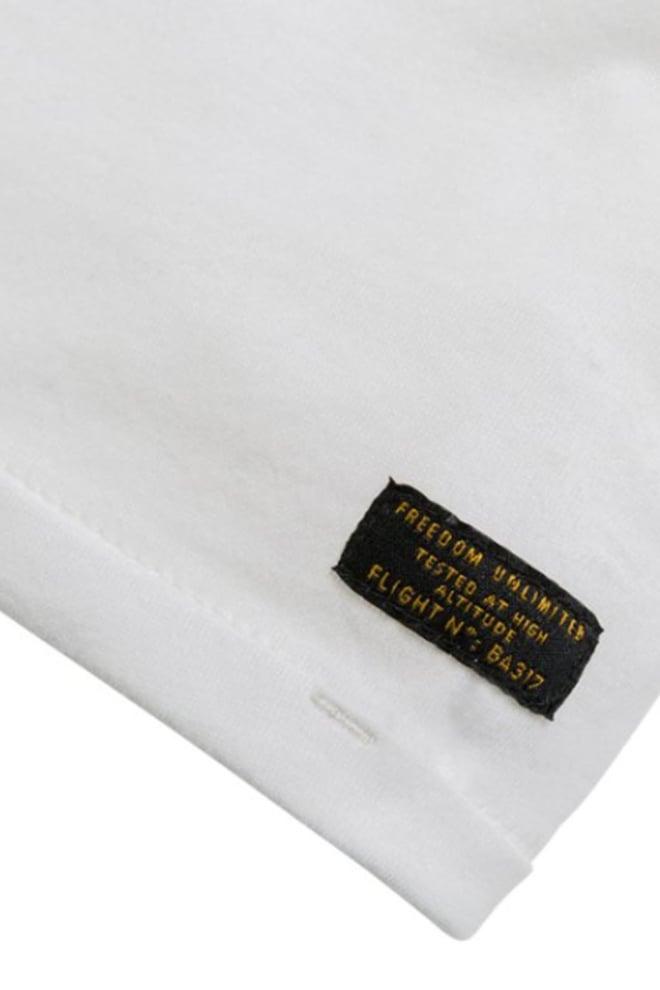 Pme legend single jersey shirt wit