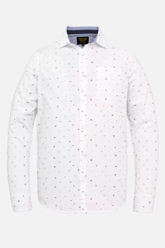 Pme legend all-over print overhemd wit - Pme Legend