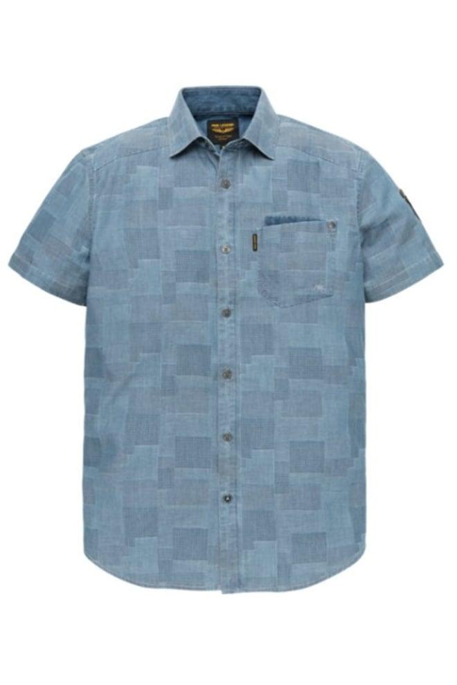 Pme legend block jac overhemd denim - Pme Legend