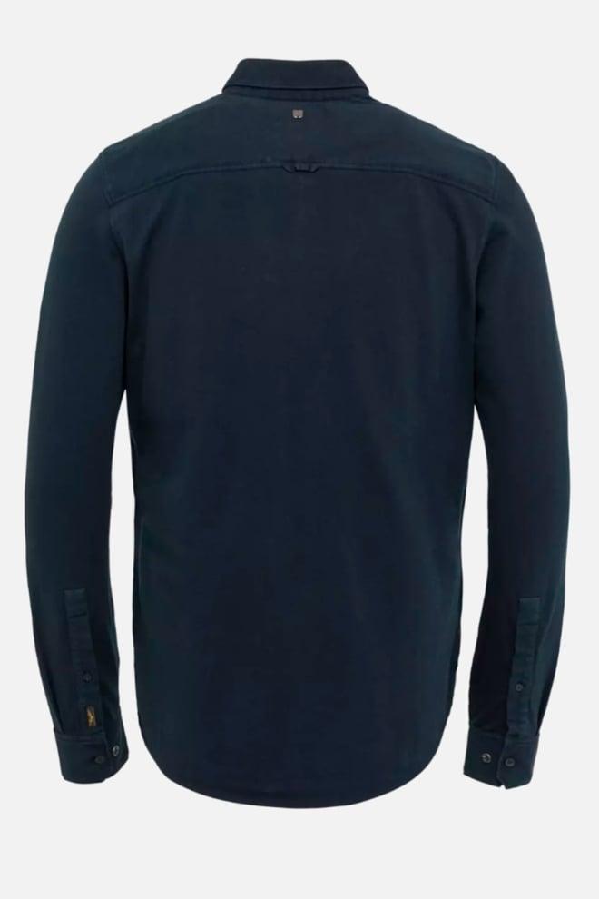 Pme legend garment dyed overhemd blauw - Pme Legend