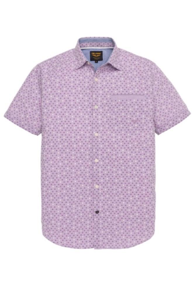 Pme legend overhemd chambray print roze - Pme Legend